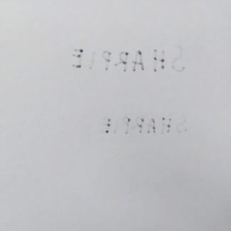 Di kertas 100gsm. Dari atas ke bawah: Fine, Ultra Fine, Pen.