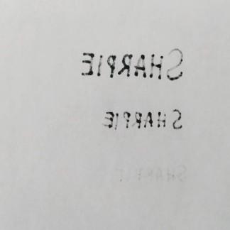 Di kertas 70gsm. Dari atas ke bawah: Fine, Ultra Fine, Pen.